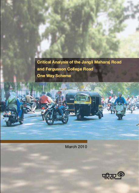 Parisar report on JM-FC road one-way scheme